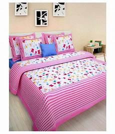 jaipuri haat double cotton floral bed sheet buy jaipuri