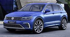 vw tiguan gte is a pre production in hybrid with