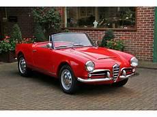 1962 Alfa Romeo Giulia Spider For Sale Classiccars