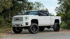 Lifted Gmc by 7 Quot Lifted 2014 Gmc 1500 4x4 Custom White Modifiedx