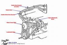 1970 Corvette 427 Engine Pulleys Parts Parts