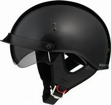 gloss black motorcycle half helmet retractable sun visor