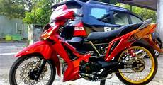 Supra X Modif Trail by Honda Supra X Modifikasi Trail Thecitycyclist