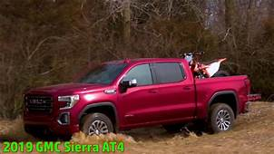 2019 Gmc Sierra At4 Red  Used Car Reviews Review Release