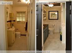 Bathroom Pictures Before And After by Diy Bathroom Remodel Before And After Diy Bathroom