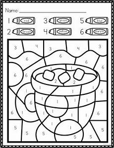 color by number winter coloring sheets 18159 winter color by number pages by roltgen teachers pay teachers