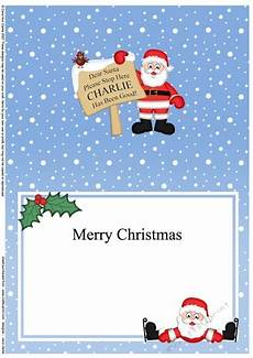 a5 christmas santa has been good matching insert cup751336 359 craftsuprint
