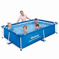 bestway piscine gonflable rectangulaire steel pro avec
