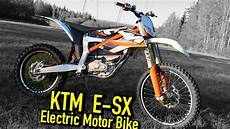 ktm sx e freeride electric motorbike test ride