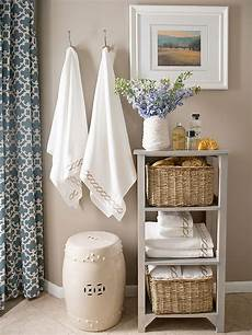 Bathroom Scale Storage Ideas by Creative Storage Ideas For Small Spaces Better Homes