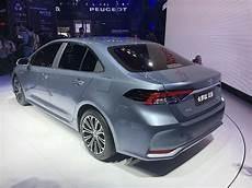 2020 toyota altis 2020 toyota corolla altis unveiled in china