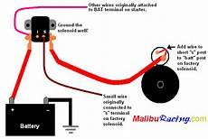 remote starter solenoid instructions