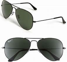 ban original aviator 58mm polarized sunglasses in