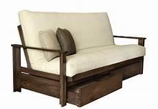 futon frame sherbrooke oak futon frame futon d or matelas