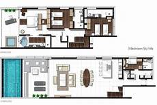 oceanfront house plans oceanfront villa phuket three bedroom sky pool house