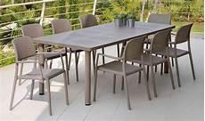 tavoli e sedie in resina per esterno tavolo da giardino libeccio nardi