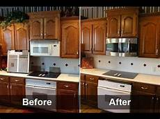 repainting kitchen cabinets refinish kitchen cabinets youtube