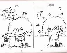dibujos dia y de la noche dibujos dia y de la noche d 237 a y noche en dibujos dibujos colorear del dia y la noche preescolar imagui