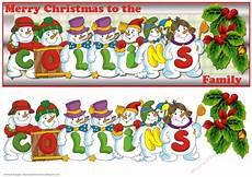 snowmen surname collins cup745606 66 craftsuprint