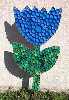 Encore Une Tulipe Fleur En Bouchons Plastiques R 233 Cup 233 R 233 S