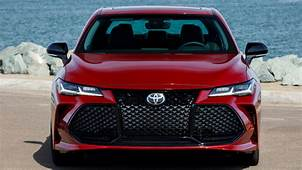 2020 Toyota Avalon Preview Pricing Release Date