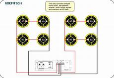 classroom audio systems multiple speaker wiring diagram