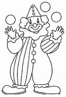clown coloring pages for coloring worksheets 4