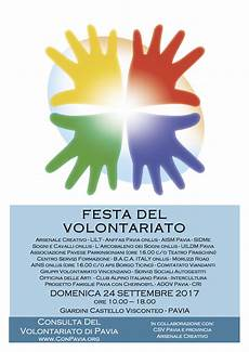 associazioni volontariato pavia festa volontariato 2017 conpavia