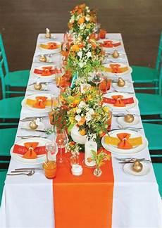 wedding decorations orange and yellow yellow and orange wedding decor google search