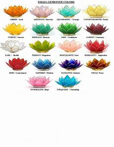 Lotus Flower Color Meanings Lotus Capiz Shell Candle