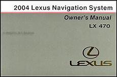 where to buy car manuals 2004 lexus is electronic throttle control 2004 lexus lx 470 navigation system owners manual original
