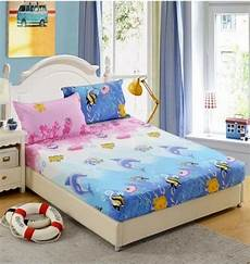 wholesale sheets fitted bed sheet elastic mattress cover bed linen bedspread polyester cotton