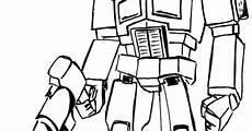 Gambar Mewarnai Robot Transformer