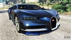 Bugatti In Gta by Bugatti Chiron For Gta 5