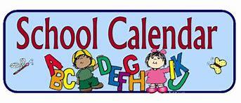 Image result for school calendar clip art