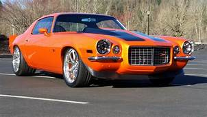 Check This Awesome Orange Pro Touring 1971 Chevrolet