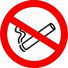 Panneau Pvc Rond S 233 Curit 233 Du Travail Quot Interdiction De Fumer Quot