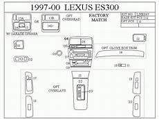 1997 Lexus Es300 Fuse Box Diagram
