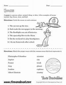 worksheet for nouns pdf free printable noun worksheets for teachers language arts