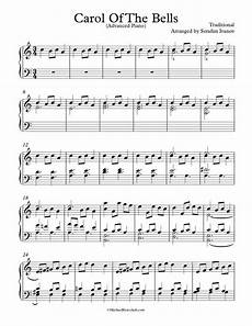 free piano arrangement sheet music carol of the bells michael kravchuk