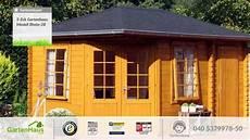 5 eck gartenhaus modell rhein 28