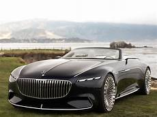 2017 Monterey The Vision Mercedes Maybach 6 Cabriolet