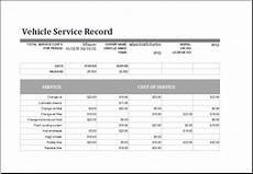 11 service log templates excel templates