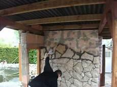 Polygonalplatten Verlegen Wand - 012 avi kroatischer stein beim verlegen