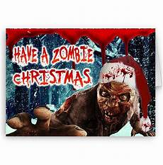 merry zombie apocalypse christmas happy christmas holidays a5 card