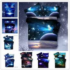 fashion new 3d galaxy bedding sets universe outer space duvet cover bed sheet ebay
