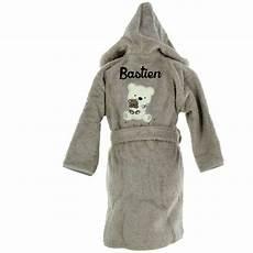 peignoir personnalisé bébé peignoir b 233 b 233 brod 233 avec pr 233 nom paddy