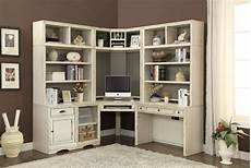 corner home office furniture nantucket corner desk 7 piece modular corner bookcase home