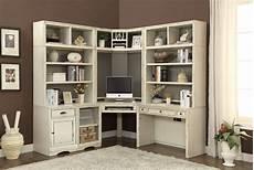 corner home office furniture nantucket corner desk 7 piece modular corner bookcase home