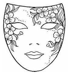 Malvorlage Karneval Maske V 253 Sledok Vyhľad 225 Vania Obr 225 Zkov Pre Dopyt Ausmalbilder